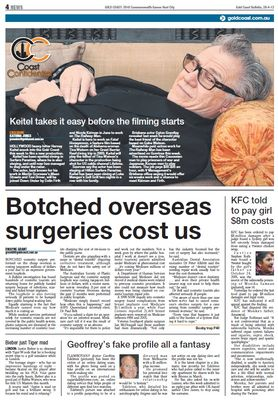 Botched Overseas Surgeries Cost Us - Gold Coast Bulletin April 2012